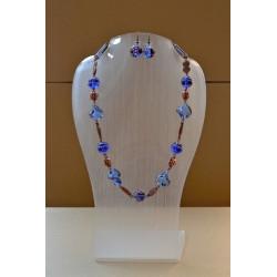 Set - necklace + earrings
